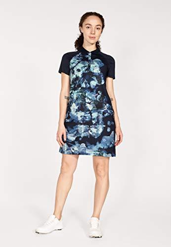 Röhnisch Pulse Dress Golfkleid Damen Blue Utopia XL