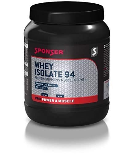 Whey Isolate 94 Gusto Fragola - Siero del Latte di Altissima Qualità, 425 g