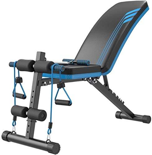 Trainingsapparatuur buik machine om gewicht te trainen opklapbare bank trend gymnastiek schoonmaken, instelbaar gewicht bank,