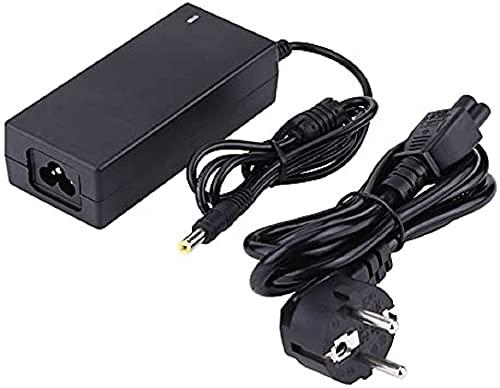CARGADOR ESP Cargador Corriente 19V Compatible con reemplazo para HP Pavilion DV5-1200 DV6-1000 DV6-1100 DV7-1000 Recambio Replacement