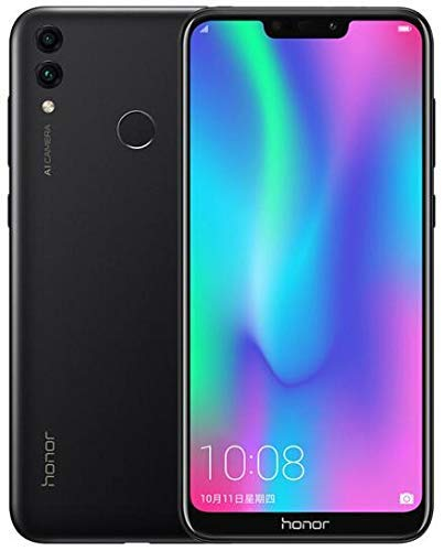 Huawei HONOR 8C Dual SIM, 4GB+64GB/32GB Storage, 13 MP Rear Camera with 6.09 Inch Full View Display (Black, 4GB+32GB Black)