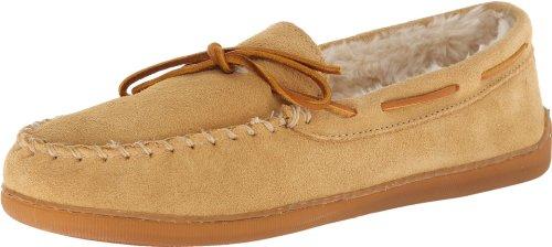 Minnetonka Pile Lined Hardsole 3901w, Mocassins (loafers) homme - Beige - Beige (marron clair), 43