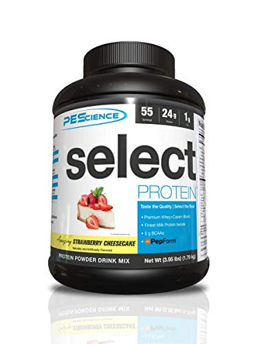 PES Select Protein Strawberry Cheesecake 55 Serve, 1.84 kg