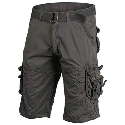 Mil-Tec Vintage Survival Shorts Prewash schwarz Gr.3XL