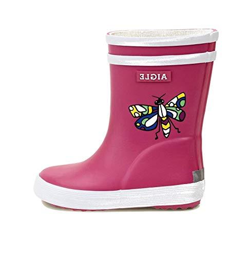 Aigle Boy's Wellington Boots Rain, Butterfly, 7.5 us