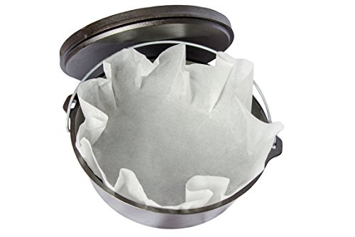 Dutch Oven Parchment Paper Liners by campfire pros image