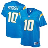 NFL PRO LINE Women's Justin Herbert Powder Blue Los Angeles Chargers Team Player Jersey