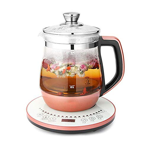 NLYWB Health-Care Beverage Tea Maker, 8-in-1 Programmable Brew Cooker, Intelligent Insulation Technology, Suitable for Families, Teas Houses, Etc, 8.7x10.6 Inch