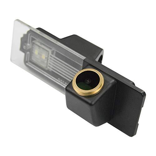 HD D'oro Telecamera per retromarcia (1280x720p) Telecamere posteriori impermeabile Visone Notturna Retrocamera per BMW 1er M1 E81 E87 F20 F21 116i 118i 120i 135i 640i Mini Cooper R55 R57 R60 R61