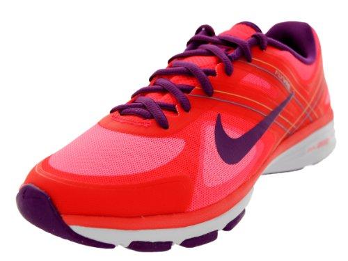 Nike Dual Fusion Tr 2 Womens Running Trainers 631459 Sneakers Shoes (UK 3 US 5.5 EU 36, Laser Crimson Bright Grape Venom Green Photo 600)