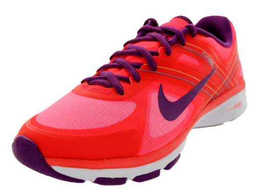Nike Dual Fusion Tr 2 Womens Running Trainers 631459 Sneakers Shoes (UK 3 US 5.5 EU 36, Laser Crimson Bright Grape Venom Green Photo 600)