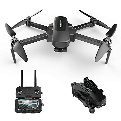 HUBSAN Zino Pro Drone with 4K UHD Camera 3-Axis Gimbal FPV RC Quadcopter, 4KM 5G WiFi Transmission Brushless Motor GPS Return to Home Foldable Arm RTF