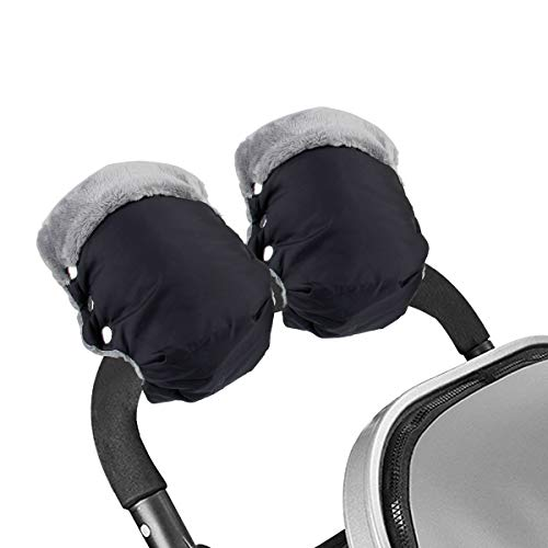 Mture Guantes de Silla de Paseo, Manoplas guantes de Forro polar...