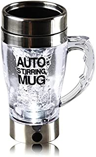 Nrpfell Self Stirring Mug Automatic Electric Lazy Automatic Coffee Mixing Tea Mix Cup Travel Mug Double Insulated Thermal Cup