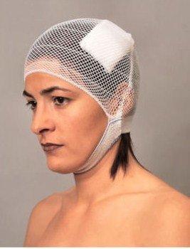 5 x Kopfverband EcoFix Kopfschnellverband Netzschlauchverband Kopf Fertigverband
