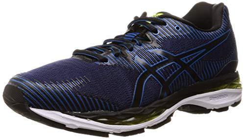 Asics Gel-Ziruss 2 Hombre Running Trainers 1011A011 Sneakers Zapatos (UK 8.5 US 9.5 EU 43, Indigo Blue Black 400)