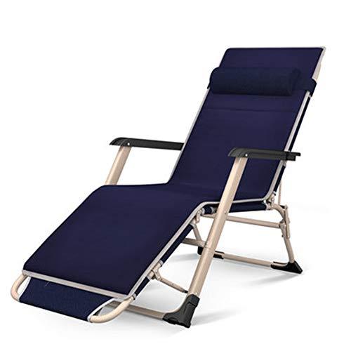 ZXCY Plegable Gravedad Cero Sillas De Sol Al Aire Libre Tumbona Reclinable con La Almohadilla De La Playa del Jardín del Patio Camping Al Aire Libre,A