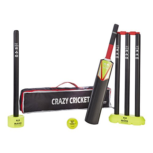 Ram Cricket, Crazy Cricket Set - Kinder Set, mit Tragetasche
