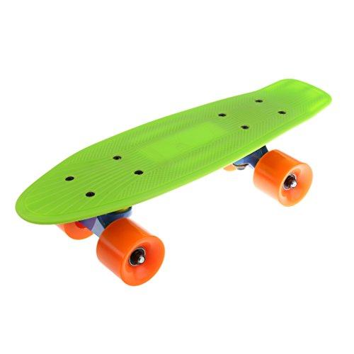 MagiDeal 17 Zoll Skateboard Komplett Board 43cm x 13,5 cm für Kinder, Jugendliche und Erwachsene