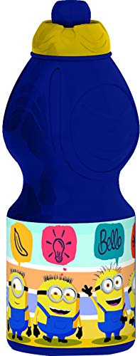 Minions, Gru Mi Villano Favorito Botella cantimplora Sport plastico 400 ml (STOR 89832)