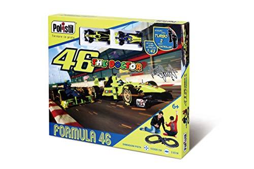 Polistil Pista eléctrica VR46 Super F1