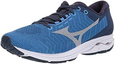 Mizuno Men's Wave Rider 23 WAVEKNIT Running Shoe, Campanula-Vapor Blue, 10 D