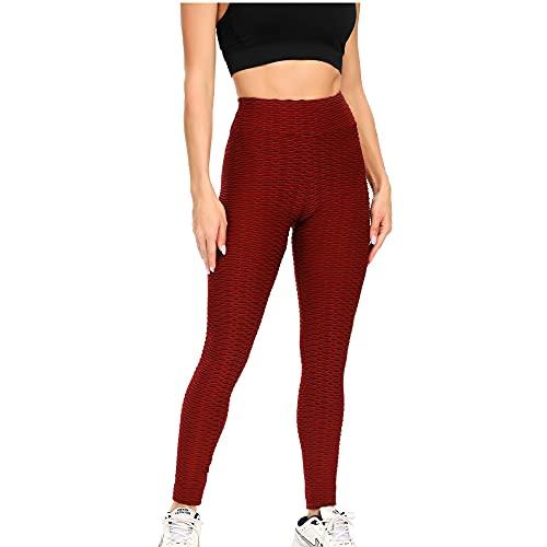 N\P Melocotón cintura alta cadera elástico delgado contraste jacquard ocio fitness yoga pantalones