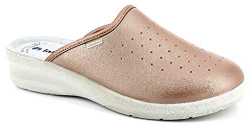 inblu Pantofole Ciabatte SANITARIE Donna MOD. 50-33N Rame (39)