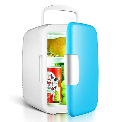 JYSPORT Kühl Kühlschrank 7.5 l PKW Gefrier-Box Tragbarer Mini-Gefriertruhe Heißer und kalter Gefrier (4L blue)
