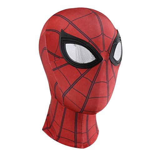 Homened 3D Spiderman Maske Spider Man Cosplay Kostüme Lycra Maske Halloween Maske Cosplay Hüte Kopfbedeckung Karneval Schminke Zubehör