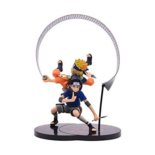 19Cm Naruto Pvc Action Figures Uzumaki Naruto Uchiha Sasuke Figures, Naruto Pvc Toy Model Toys Gift