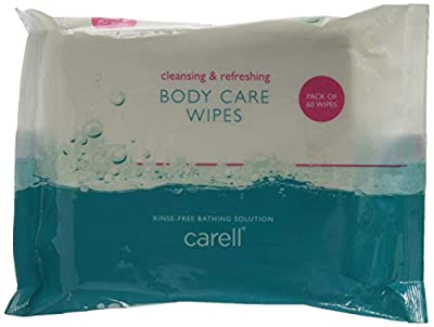 Clinell Body care wipes, Pack of 60 from Gama Healthcare