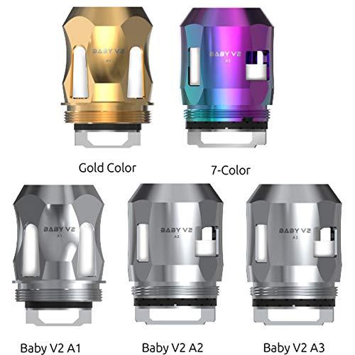Smok TFV8 Baby v2 Coils 3er Pack Verdampferköpfe Variante TFV8 Baby V2 A1 Silber