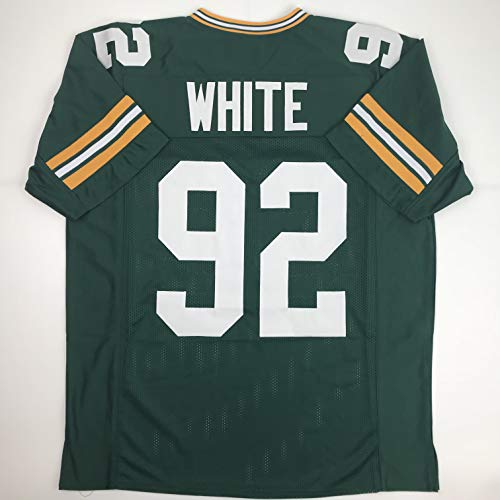 Unsigned Reggie White Green Bay Green Custom Stitched Football Jersey Size Men's XL New No Brands/Logos