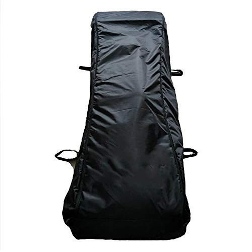 """ZPFDM Body Bag, Size 30"""" X 80"""" Stretcher Combo, with 4 Side Handles Cadaver Bag, Waterproof and Leak-Proof, Outdoor Camping Hiking Sleeping Pouch"""