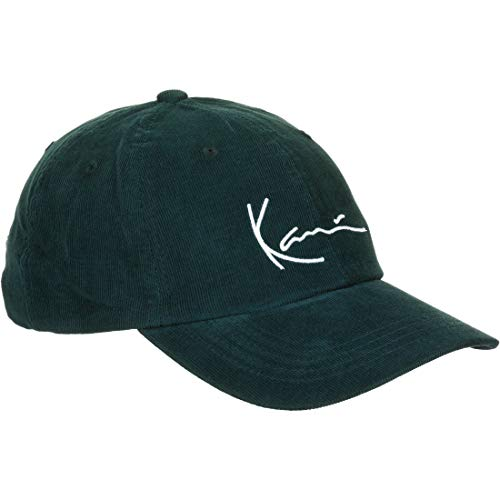 Karl Kani Signature Cord Cap Green/White