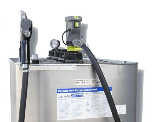 Hoftankstelle - Einsteigerpaket - Horn - 1000 Liter Dieseltank mit Pumpe