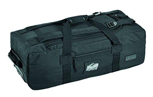 Defcon 5- Trolley da viaggio unisex, Unisex, Trolley Travel Bag, nero, 80 x 25 x 36 cm