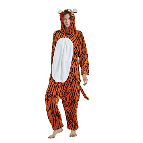 7MR Pijama Adulto Unisex Caliente Unisex Adulta Animal Tigger Unisex Bodies Invierno Pijamas For Adultos Franela Ropa De Dormir Unisex (Color : Multi-Colored, Size : X-Large)