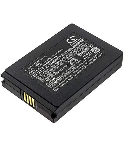 3.7V 3Ah LiPo batería para Vectron POS MobilePro III Caso