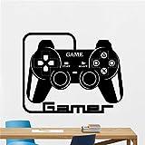 hetingyue Gamer Joystick Aufkleber Creative Decals 87x109cm