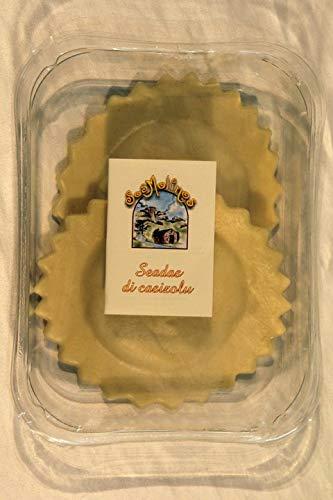6 x 250 gr - Seadas al casizolu. Le seadas sono un dolce tipico della tradizione pastorale sarda. Tradizionalmente erano considerate come una pietanza principale del pasto