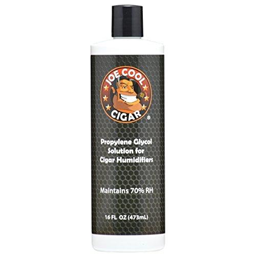 Joe Cool Cigar Propylene Glycol Solution for Cigar Humidifiers (16 oz Bottle)