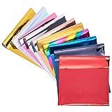 SUPERFINDINGS 60 Hojas 10 Colores Papel de Estampado En Caliente A4...