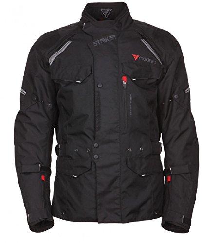 Modeka Striker Touren-Textiljacke Kurz XL Schwarz