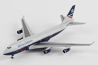 ヘルパウィングス 1/500 B747-400 ブリティッシュエアウェイズ G-BNLY 100th Anniv. ランド― (533393)