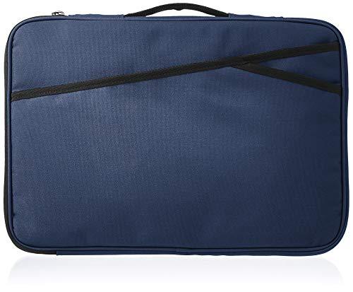 Amazon Basics – Laptophülle, 38 cm, marineblau
