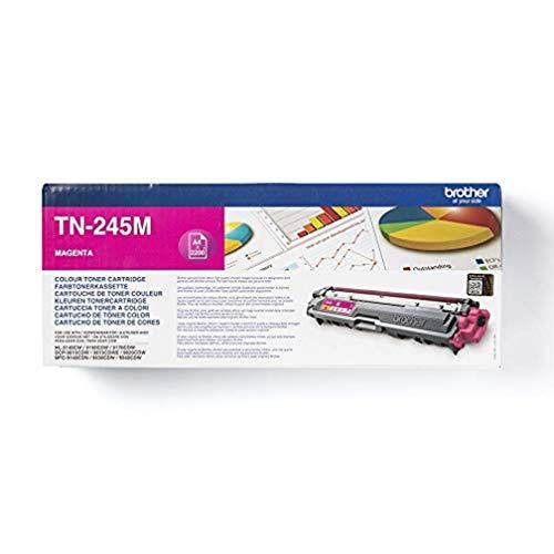 Brother Original Jumbo-Tonerkassette TN-245M magenta (für Brother HL-3140CW, HL-3150CDW, HL-3170CDW, DCP-9020CDW, MFC-9140CDN, MFC-9330CDW, MFC-9340CDW)