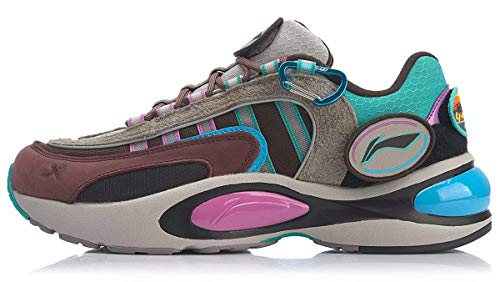 LI-NING 2019 NYFW Men V8 Running Shoes PROBAR LOC Support Lining Cloud LITE Fashion Sport Shoes Sneakers Multicoloured ARHP189-1H US 9