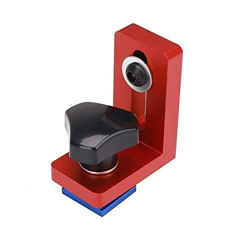 Localizador de Rieles para Carpintería, Tope de Riel de Inglete Tipo 30, Localizador de Tope de Riel, para Fresar Carpintería